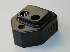 BLACK BILLET COIL COVER W/ KEY SWITCH HOLE HARLEY EVO