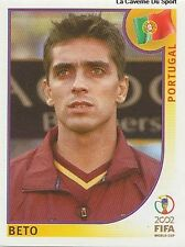 N°299 BETO # PORTUGAL PANINI WORLD CUP JAPAN 2002 STICKER