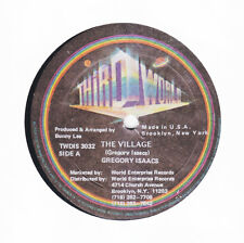 """GREGORY ISAACS - THE VILLAGE - Third World - CLASSIC ROOTS REGGAE 12"""" hear"""