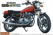 Aoshima Naked Bike 11 1/12 Suzuki GS400E (42472) from Japan