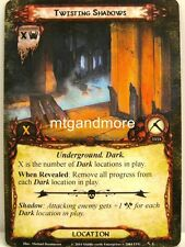Lord of the Rings LCG  - 1x Twisting Shadows  #006 - Nightmare Deck Khazad-Dum