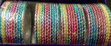 80 Indian-Belly-Dance-Bangles-Braclets Rainbow CoLors Of Bolywood Dance Multi