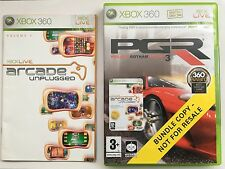 Project Gotham Racing 3 (PGR 3) Inc Arcade Unplugged For Xbox 360 (NEW & Bundle)
