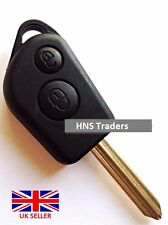 CAR KEY FOB CASE 2 BUTTON WITH BLADE FOR CITROEN, BERLINGO, PICASSO,SAXO, XSARA