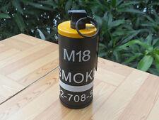 2 in 1 DUMMY M18 Smoke Grenade shape Cigarette case Windproof lighter YE LIG057Y
