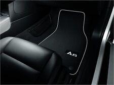 Textilfußmatten Premium für vorne und hinten für Audi A6 4G Avant und Limousine