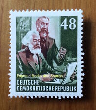 EBS East Germany DDR 1953 Karl Marx Year 48 Pf MNH Michel 351**