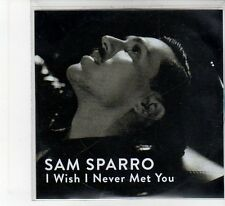 (FB136) Sam Sparro, I Wish I Never Met You - DJ CD