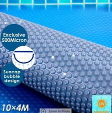 500 Micron Solar Swimming Pool Cover Blanket 10M x 4M Save water/energy/chemica