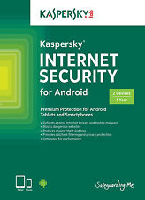 Kaspersky Internet Security for Android 2User/Devices / 1Year Original License