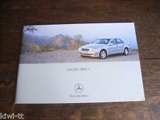 Mercedes Benz C-Klasse Limousine (W203), Prospekt / Brochure, CZ, 2002