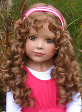 "Masterpiece New ~ Laura ~ Monika Peter-Leicht  39"" Brunette Jointed Vinyl Doll"