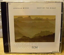 STEPHAN MICUS - EAST OF THE NIGHT - CD - ECM  New Unplayed