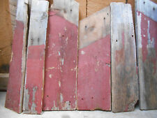 Short Reclaimed OLD Red Barn White Pine Board Wood Sign Craft Lumber Resaw Stock