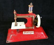 Vintage 1940s Gateway Jr Model NP-1 Manual Sewing Machine Pressed Steel -Works