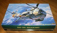HASEGAWA SH-3H Seaking 1/48 PT1 Series No. 07201 JAPAN - open box Model US Navy