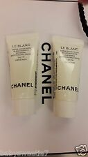 Chanel LE Blanc Hydratant Whitening Moisturizing Cream Creme Riche Fine 5ml x 2