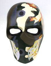 PC Lens Eye Mask Paintball Airsoft Full Face Protection Skull Mask Prop M07840