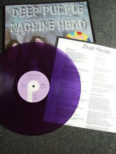 Deep Purple- Machine Head LP-Purple Vinyl-Made in France