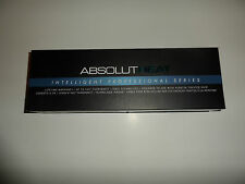 $250 ABSOLUTHEAT INTELLIGENT PROFESSIONAL SERIES Flat Iron HAIR  COLOR: BLACK