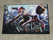 SPECIAL BUY - 2013 SPIDERMAN vs VENOM ART PRINT BY GREG HORN SIGNED 13x19