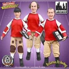 """The Three Stooges Larry Moe Curly 8"""" Retro Action Figure Toy Company No Census"""