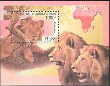 Benin 1999 Lions/Big Cats/Animals/Wildlife/Nature/Conservation 1v m/s (b8350)