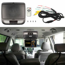 10 Inch Black Auto Flip Down TFT LCD Monitor Car Roof Mount Monitors LED Light