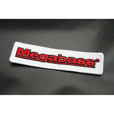 "Megabass Patch 4.72"" Emblem Fishing Logo Badge For Clothes Cap"