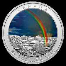2016 $20 Canada Weather Phenomenon Radiant Rainbow 1oz Silver Coin