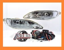 2005-2008 Toyota Corolla Bumper Fog Lights Clear Lens Front Lamps FULL KIT SET