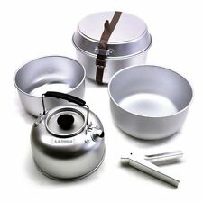 5pc Camping Cooking Set with Kettle & Pan CMP26