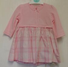 New baby girl long sleeve dress Pink 0-3 months