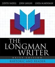 The Longman Writer: Rhetoric and Reader (Brief 5th Edition)-ExLibrary