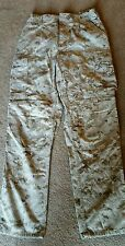 USMC DESERT MARPAT MCCUU PANTS TROUSERS SMALL REGULAR DIGITAL CAMO  UTILITIES