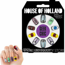 House Of Holland Nails By Elegant Touch -  GEEK CHIC    NEW