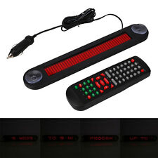 12V Car Red LED Programmable Message Sign Moving Display with Remote Controller