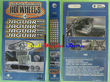 film VHS cartonata HOT WHEELS N.6 Jaguar DOMOVIDEO 2000 SIGILLATO(F15)no dvd