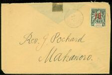 COMORO : Scarce singles franking on Internal cover.