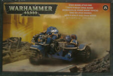 Warhammer 40K: Adeptus Astartes: Space Marine: Attack Bike  NEW
