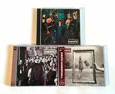 OASIS lot of 3 JAPAN CD SINGLE Supersonic Wonderwall D'you Know What I Mean?