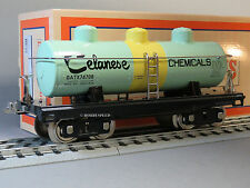 MTH LIONEL CORP Tinplate STANDARD GAUGE CELANESE CHEMICALS DOME OIL CAR 11-30203
