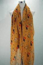 Chihuahua Dog with Hearts and Paws Print Large Mustard  Wrap Scarf   NEW