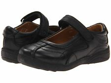 Stride Rite Black Leather MaryJanes School Shoes   Youth Girls Size 3 Wide