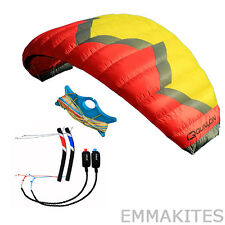 Professional 5m² 4-Line Power Traction Kite with Flying Tools for Paragliding