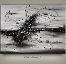 Original ABSTRACT painting large painting MODERN ART home decor canvas - Nandita
