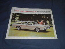 1965 Oldsmobile Cutlass Vista Cruiser F85 Wagons Brochure Catalog Prospekt
