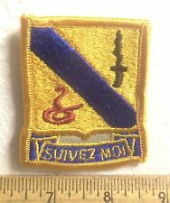 U.S. Army – 14th Armored Cavalry Regiment Embroidered Patch