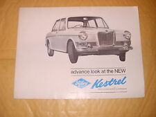 Riley Kestrel Sales Brochure - Publication Number H & E 6547 - As Photo