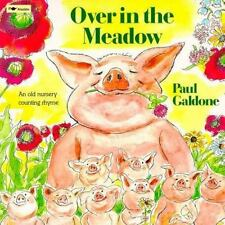 Over in the Meadow:  An Old Nursery Counting Rhyme-ExLibrary